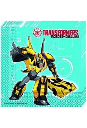 Transformers Peçete (20 Adet)