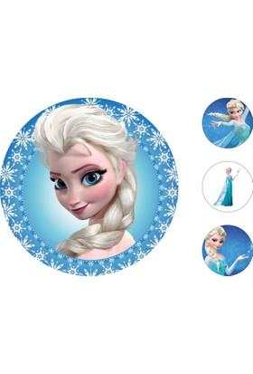 Frozen Gofret Kağıt Baskı Elsa (21 x 29 cm)