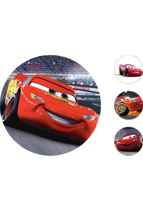 Cars Gofret Kağıt Baskı Mcqueen (21 x 29 cm)