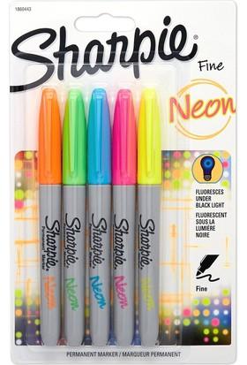 Sharpie Kalem Permanent Markers Neon 5 Renk