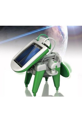 Wildlebend Robot Kits 6 İn 1Güneş Enerjili Robot Oluşturma Seti