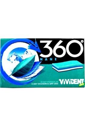 Vivident Cüzdan 360 3D Naneli Sakız