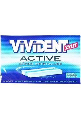 Vivident Cüzdan Sakız Active Mikro Kristaller 33 G