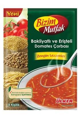 Ülker Bizim Mutfak Bakliyatlı Domates Çorbası 93 G