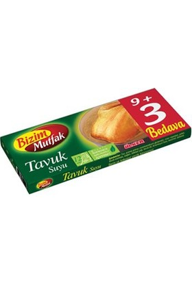 Ülker Bizim Mutfak Tavuk Suyu 12 Li Tablet 120 Gr