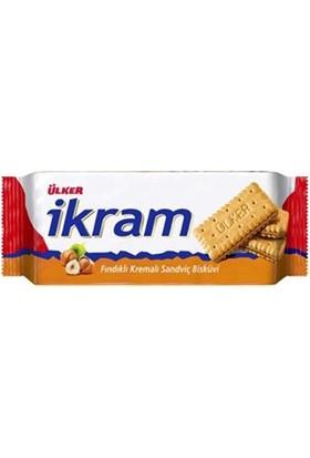 Ülker İkram Fındıklı Sandviç Bisküvi 92 Gr