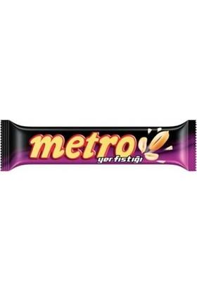 Ülker Metro Yer Fıstıklı Çikolata 40 Gr