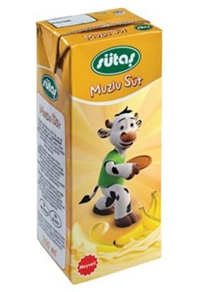 Sütaş Muzlu Süt 200 ml