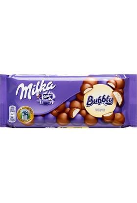 Milka Bubbly White Sütlü Tablet Çikolata 100 Gr