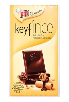 Eti Keyfince Rulo Gofret Parçacıklı Çikolata 27 Gr