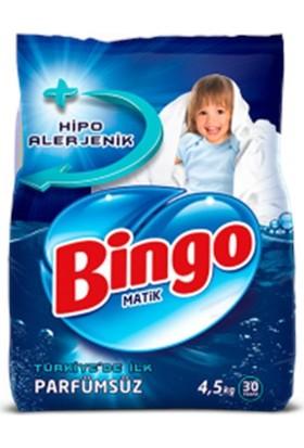 Bingo Parfümsüz Toz Çamaşır Deterjanı 4,5 Kg