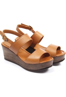 Gön Deri Kadın Sandalet 45319