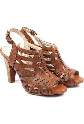 Gön Deri Kadın Ayakkabı 26022
