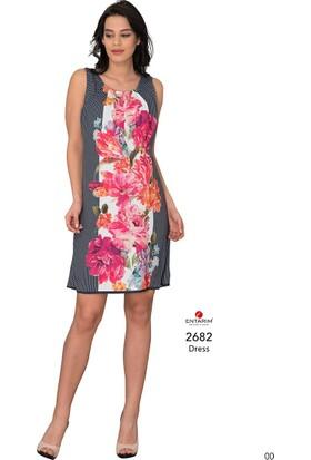 Entarim Hamile Şifon Elbise 2682