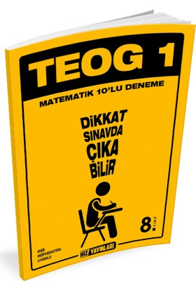 TEOG 1 - 10'lu Matematik Denemesi