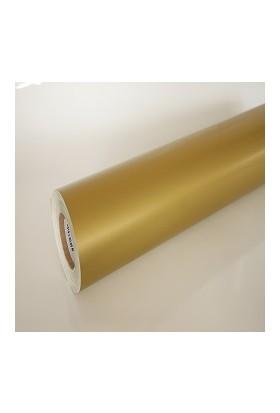 Yapışkanlı Folyo Mat Altın Varak 61 X 6 Metre