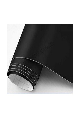 Yapışkanlı Folyo Mat Siyah 122 X 1 Metre
