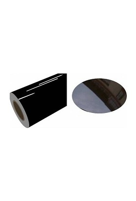Yapışkanlı Folyo Parlak Siyah 122 X 1 Metre