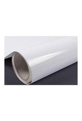Yapışkanlı Parlak Beyaz Folyo 122 X 4 Metre