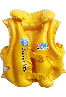 İntex Sarı Renkli Can Yeleği 50 x 47 cm