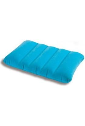 İntex Şişme Mavi Renk Yastık (43 x 28 x 9 cm)