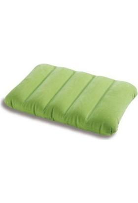 İntex Şişme Yeşil Renk Yastık (43 x 28 x 9 cm)