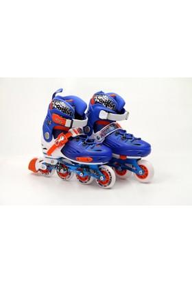 Vardem Kutulu Pro Slalom Ayarlanabilir 36 39 Mavi Paten