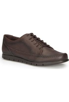 Polaris 71.800114.M Kahverengi Erkek Ayakkabı
