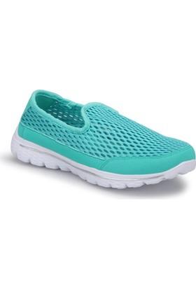 Kinetix Densor W Yeşil Beyaz Kadın Yürüyüş Ayakkabısı