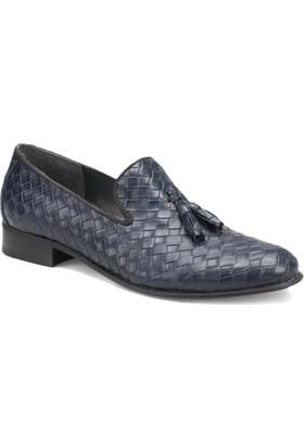Garamond 1719 M 6688 Lacivert Erkek Klasik Ayakkabı