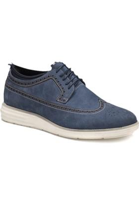 Cordovan 71123-1 M Lacivert Erkek Deri Modern Ayakkabı
