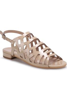 Miss F Ds17053 Bej Kadın 545 Sandalet
