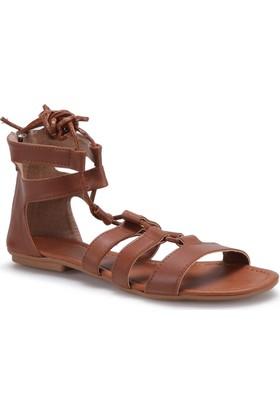 Carmens Art08 Kahverengi Kadın Sandalet