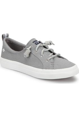 Sperry Top-Sider Sider Crest Vıbe Lınen Gri Kadın Sneaker Ayakkabı