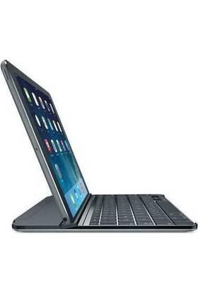Logitech Ultrathin iPad Air Klavyeli Kılıf Stand Siyah-Gri