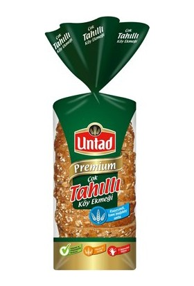 Untad Premium Cok Tahıllı Köy Ekmeği 480 Gr