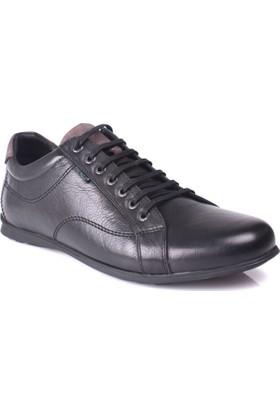 King Paolo 8114 034 013 Erkek Siyah Günlük Ayakkabı