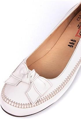 King Paolo 682 034 321 Kadın Krem Günlük Ayakkabı