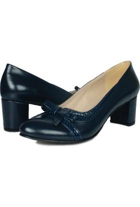 Loggalin 375008 031 425 Kadın Lacivert Ayakkabı