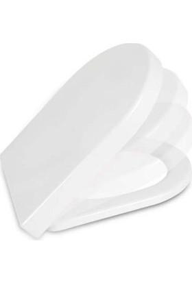 NKP Elegance Amartisörlü Klozet Kapağı Duroplast-Model 402