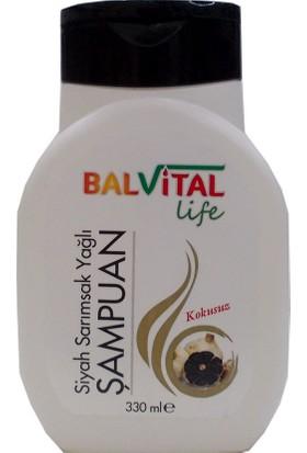 Balvital Life Siyah Sarımsak Yağlı Şampuan Kokusuz 330 ml