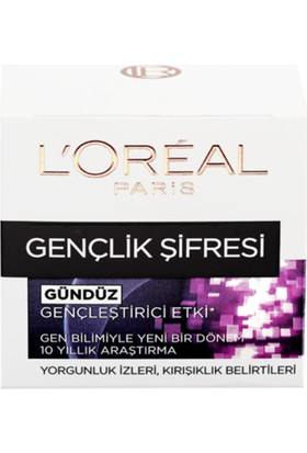 Loreal Paris Dermo Expertise Youth Code 50 Ml Gündüz Kremi