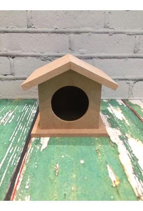 Hureggo Concept Ahşap Kuş Yuvası Boyamalık