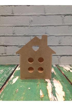 Hureggo Concept Ahşap Boyamalık Ev Desen Kalemlik