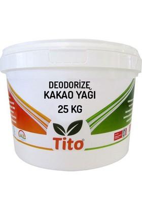 Tito Deodorize Kakao Yağı 25 kg