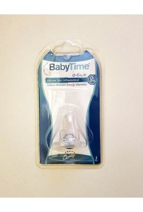Baby Time Silikon Biberon Emziği