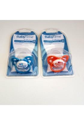 Baby Time Silikon Damaklı Koruyucu Kapaklı Emzik