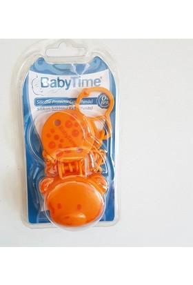 Baby Time Silikon Emzik Saklama Kabı Ve Emzik Askılık