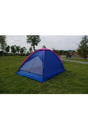 Angel Eye 4 Kişilik Ortadan Fermuarlı Kamp Çadırı 200 x 200 x 135 cm