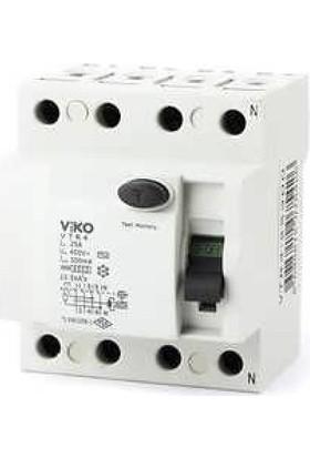 Viko 4X40A 300 Ma Kaçak Akım Rölesi